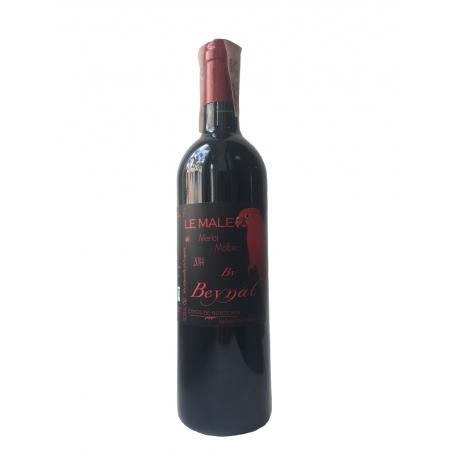 Вино червоне сухе органічне Le Male Château Beynat 2014 0,75 л