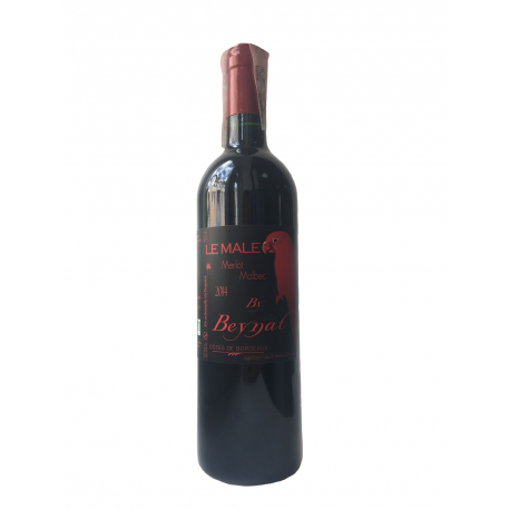 Вино червоне сухе органічне Le Male Château Beynat 2015 0,75 л