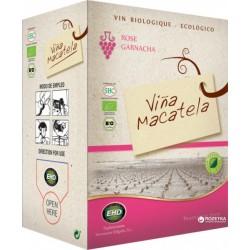 Вино рожеве сухе Macatela Garnacha органічне, 5 л