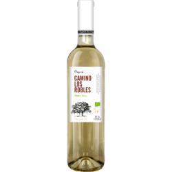 Вино біле сухе Camino Los Robles Airen 2016 органическое 0,75 л
