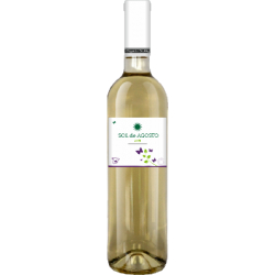 Вино біле сухе Sol de Agosto Airen 2016 органічне 0,75 л
