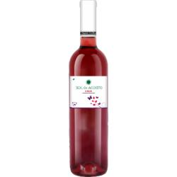 Вино рожеве сухе Sol de Agosto Garnacha 2016 органічне 0,75 л
