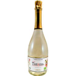Вино ігристе біле напівсухе Theresa 2016 органічне 0,75 л