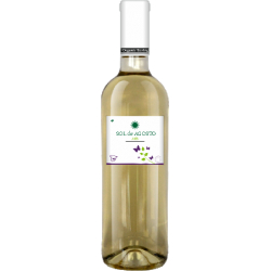 Вино біле сухе Sol de Agosto Airen 2016 органічне 1 л