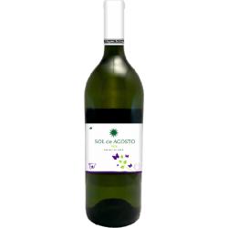 Вино біле сухе Sol de Agosto Airen 2016 органічне 1,5 л