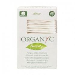 Гігієнічні ватні палички з органічної бавовни Organ(y)c, 200 шт.