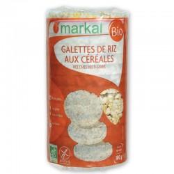 Рисові хлібці Markal з просом, кукурудзою та кунжутом органічні, 100 г