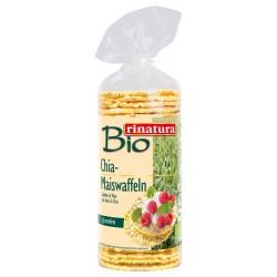Хлібці кукурудзяні із насінням чіа Rinatura органічні, 120 г