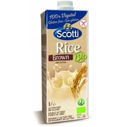 Напій з коричневого рису органічний Riso Scotti, 1 л