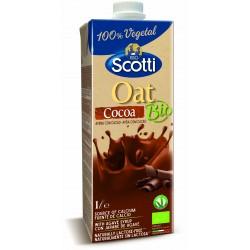 Напій вівсяний з какао органічний Riso Scotti, 1 л