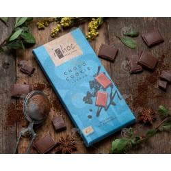 Шоколад зі шматочками шоколадного печива iChoc Choco Cookie органічний, 80 г