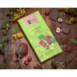Шоколад з лісовими горіхами iChoc Super Nut органічний, 80 г
