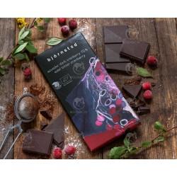 Шоколад чорний (70%) з журавлиною Björnsted органічний, 100 г