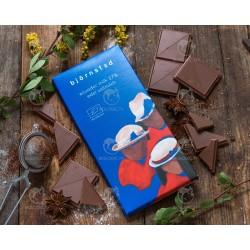 Шоколад молочний Björnsted органічний, 100 г