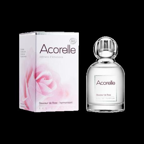 Парфумована вода Acorelle Silky Rose органічна, 50 мл