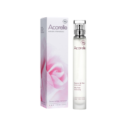 Освіжаюча вода Acorelle Silky Rose органічна, 30 мл