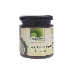 Паста з чорних оливок Campomar Nature органічна, 225 г