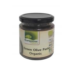 Паста із зелених оливок Campomar Nature органічна, 225 г
