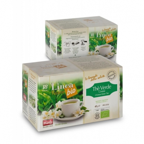 Чай зелений в монодозах Haiti Roma органічний (18 х 2,5 г)