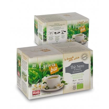 Чай чорний з лимоном Haiti Roma в монодозах органічний (18 х 2,5 г)