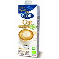 Напій вівсяний для капучино Riso Scotti Oat Barista органічний, 1 л