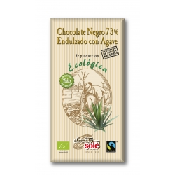 Шоколад чорний 73% з агавою Chocolates Solé органічний, 100 г