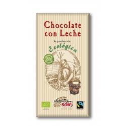 Шоколад молочний Chocolates Solé органічний, 100 г