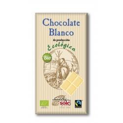 Шоколад білий Chocolates Solé органічний, 100 г