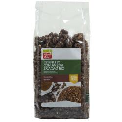 Кранчі з вівсяними пластівцями та какао La Finestra Sul Cielo органічні, 375 г