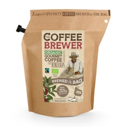 The Coffeebrewer by Grower's Cup Honduras Organic Ground Coffee, 20 g