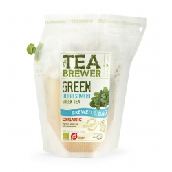 The Teabrewer by April Love Green Refreshment Organic Green Tea, 3 g