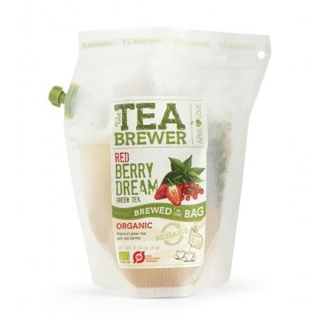 Чай зелений Red Berry Dream April Love органічний, 4 г