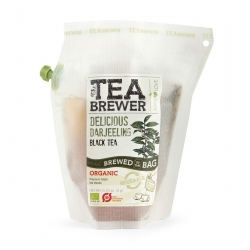 The Teabrewer by April Love Delicious Darjeeling Organic Black Tea, 3 g