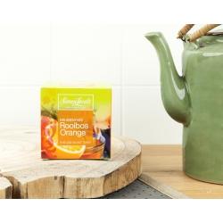 Чай трав'яний ройбуш Rooibos Orange Simon Lévelt органічний, 10 пакетиків