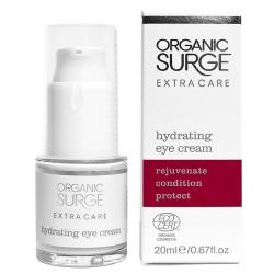 Зволожуючий крем для шкіри навколо очей Organic Surge органічний, 15 мл