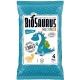Кукурудзяні снеки Biosaurus з морською сіллю органічні, 4x15 г