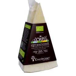 """Сир напівтвердий """"Прибалтійський"""" жирн. 20% ЕтноПродукт органічний фасований, кг"""