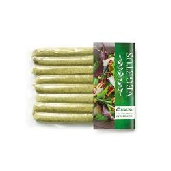"""Сосиски рослинні копчені """"Шпинатні"""" Vegetus, 360 г"""