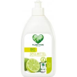 """Засіб для миття посуду """"Лимон і шавлія"""" Planet Pure органічний, 510 мл"""