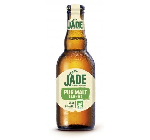 Пиво світле органічне Jade Blonde Pur Malt, 250 мл