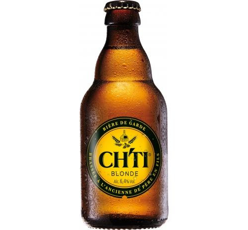 Пиво світле CHTI Blonde органічне, 250 мл