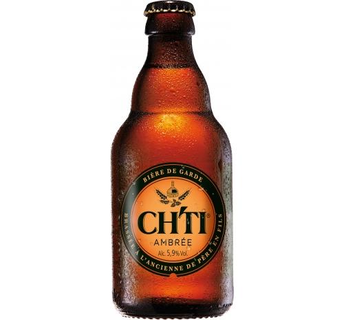 Пиво напівтемне CHTI Ambrée органічне, 250 мл