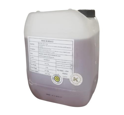 Сироп агави світлий Naturel органічний (каністра) 25,5 кг