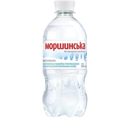 Вода мінеральна Моршинська негазована, 0,33 л