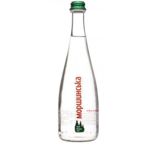 Вода мінеральна Моршинська слабогазована (скло), 0,5 л