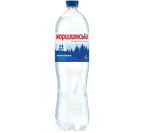 Вода мінеральна Моршинська сильногазована, 1,5 л