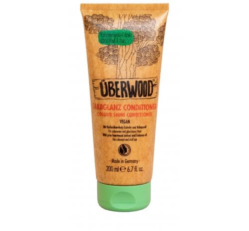 """Кондиціонер """"Сяйво кольору"""" Überwood для фарбованого та тьмяного волосся, 200 мл"""