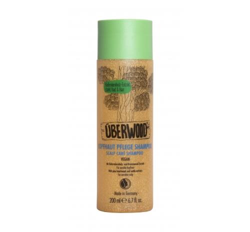 Шампунь для догляду за шкірою голови Überwood для чутливої шкіри, 200 мл