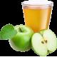 Сік яблучний прямого віджиму органічний Золотий Пармен, неосвітлений, пастеризований, 10 л