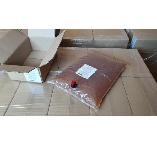 Сік яблучно-чорносмородиновий органічний Золотий Пармен, неосвітлений, пастеризований, 10 л